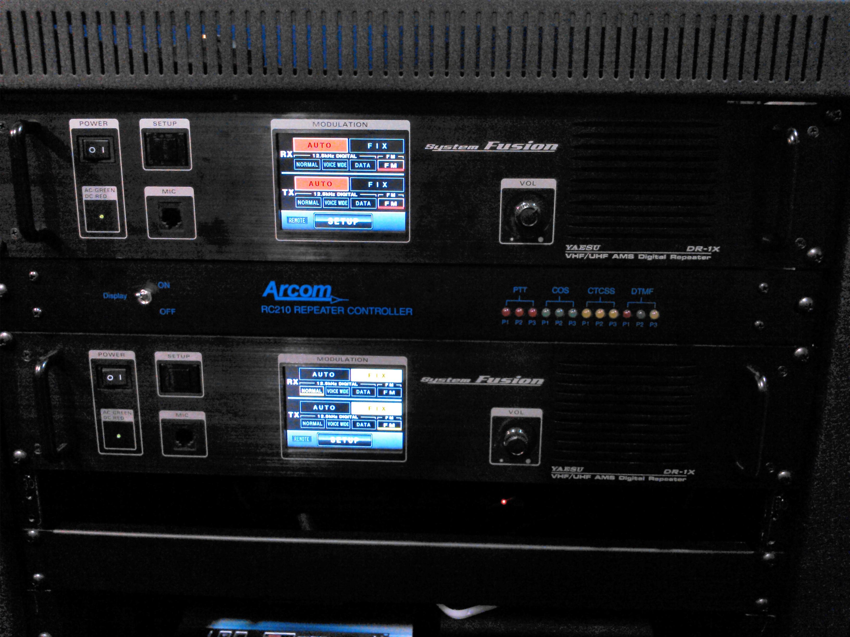 Digital / Analog dual band repeater